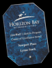 Blue Octagon Arista Glass Award Achievement Awards