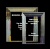 Cove Edge Plaque Colored Acrylic Awards