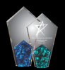 Pearl Peak Colored Acrylic Awards