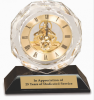 Crystal Clock Employee Awards