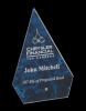 Blue Arrow Arista Glass Award Employee Awards