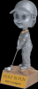 Boy Bobblehead on Gold Star Pedestal Golf Trophy Awards