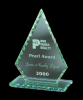 Jade Diamond Point Jade Glass Awards