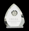 Crystal Arrowhead Clock Sales Awards