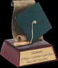 Graduate Resin Scholastic Trophy Awards