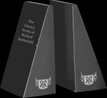 Black Marble Bookends Set Achievement Awards