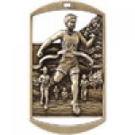 Dog Tag Medals -Cross Country  Cross Country Trophy Awards