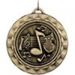 Spinner Medals -Music Music Trophy Awards