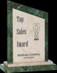 Double Viewpoint Marble Award Sales Awards