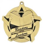 Super Star Medal -Readers and Leaders  Scholastic Trophy Awards
