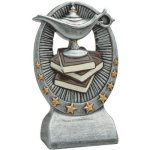 RG Resin Sculptures -Lamp of Knowledge Scholastic Trophy Awards