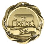 Fusion Medal  - Honor Roll Scholastic Trophy Awards