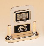 Acrylic Clock With LCD Movement Secretary Gift Awards